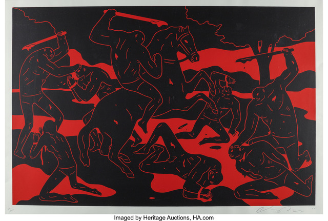 Cleon Peterson, 'River of Blood', 2015, Heritage Auctions