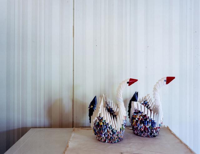, 'Origami Swans,' 2011, Galerie f5,6