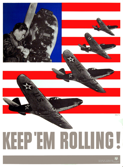 , 'Keep Em Rolling - Set of Four Posters,' 1941, Omnibus Gallery