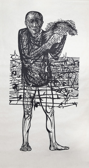Leonard Baskin, 'Man of Peace', 1952, RoGallery