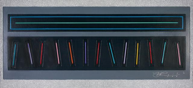 Neil Loeb, 'Electric Piano - Silver Glitter', 2013, Blue Gallery