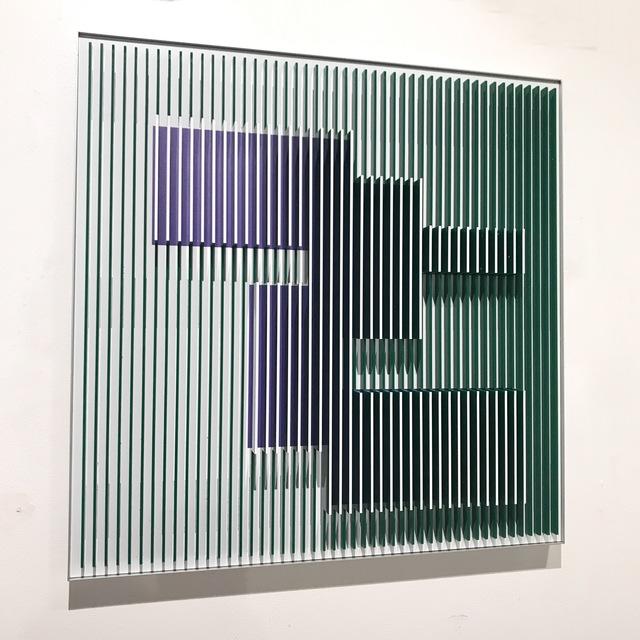 , 'Green Molecule 2,' 2018, Contempop Gallery