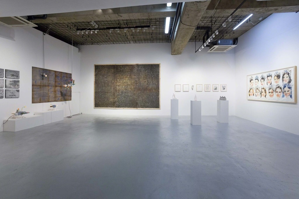 installation view at nca | nichido contemporary art, photo by Kei Okano