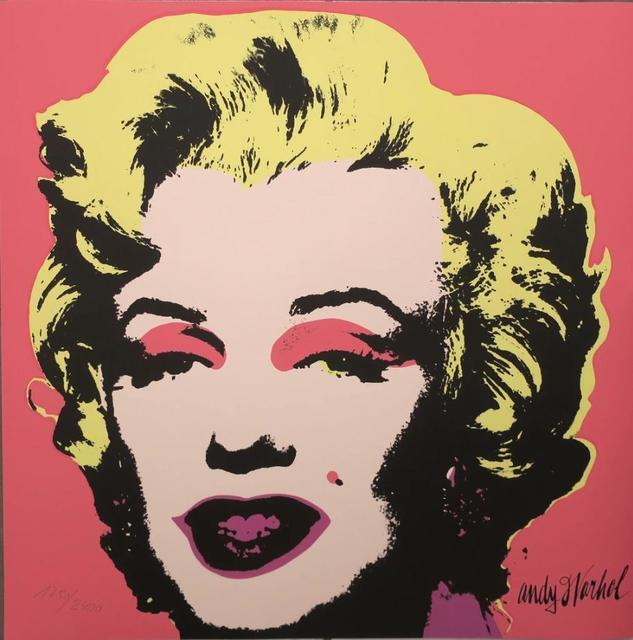 Andy Warhol, 'Marilyn Monroe, 1967', ca. 1986, Print, Lithograph, Lyons Gallery