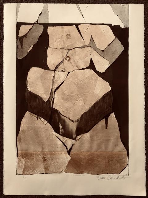 , 'Flagstone Torso,' 2015, Gallery 4 West