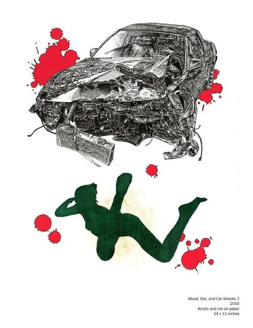 , 'Blood, Sex and Car Wrecks 1,' , JAUS