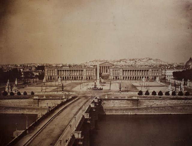 , 'Place de la Concorde, Paris,' 1859, Contemporary Works/Vintage Works