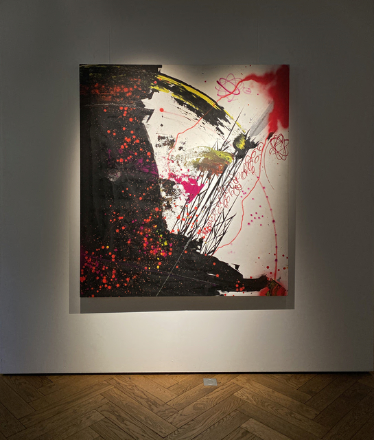 Futura, 'Untitled', 2008, Painting, Spray paint on canvas, GHOST GALERIE