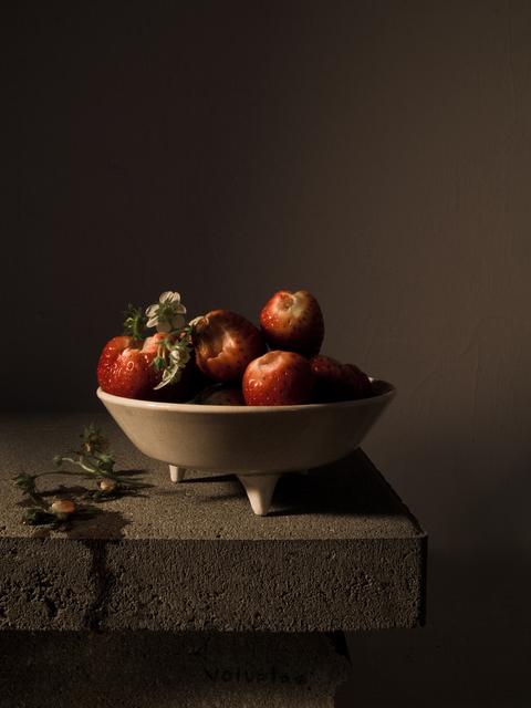 , 'Stillleben mit Erdbeeren (Voluptas, Monodram No. 1),' 2014, Jarmuschek + Partner