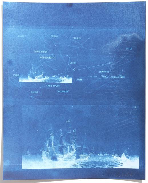 , 'Ships & Stars,' 2017, Hans Alf Gallery