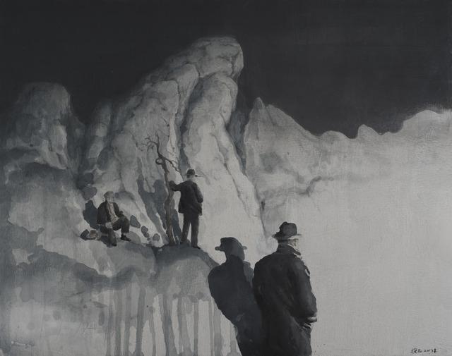 , 'Overlooking the mountain,' 2017, Amy Li Gallery