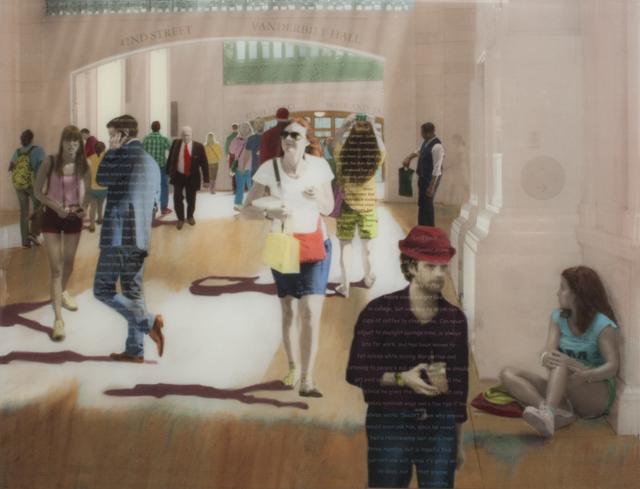 , 'Walking in the Slanted Light,' 2015, Sue Greenwood Fine Art