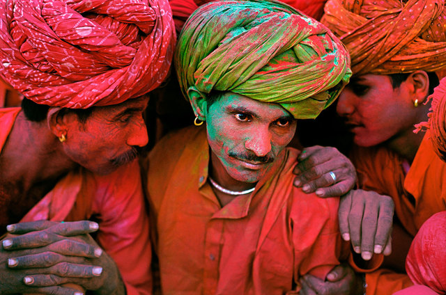 , 'Holi Festival, Rajasthan, India,' 1996, Cavalier Galleries