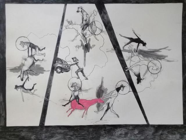 Mamady Seydi, 'Untitled 5', 2018, Galerie Galea