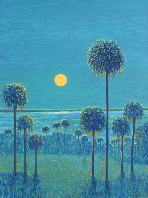 , 'Morning Moon,' 2019, 530 Burns Gallery