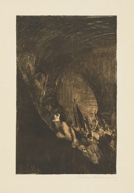 , 'Arming in a Vault,' 1902, Galerie St. Etienne