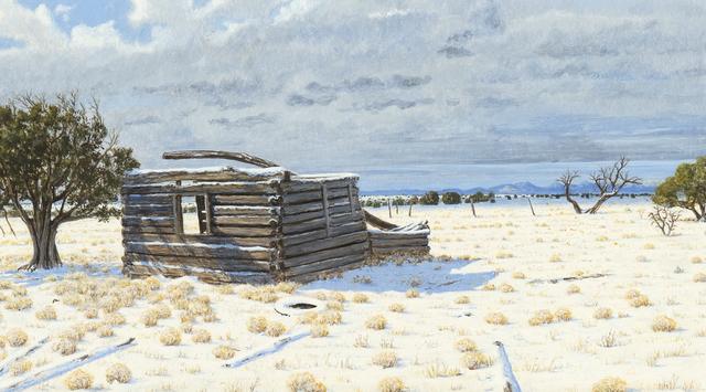 , 'Winter Cabin,' 2017, Gerald Peters Gallery Santa Fe