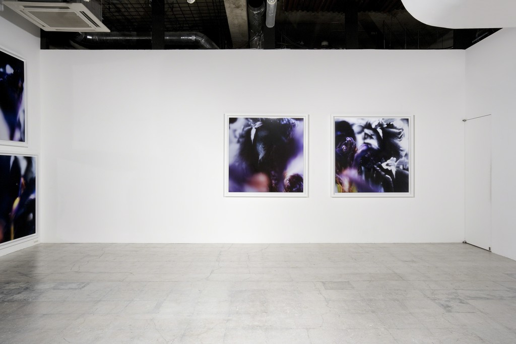 """double word"" installation view at nca 