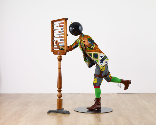 Yinka Shonibare CBE, 'Planets in My Head, Young Mathematician', 2019, James Cohan
