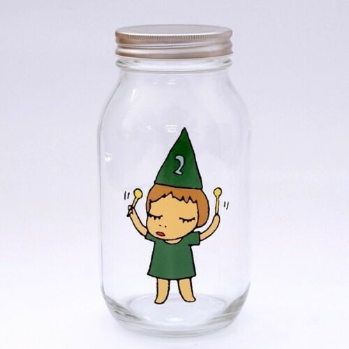 Yoshitomo Nara, 'Girl Storage Jar (900ml, Green)', ca. 2017, Lex Art Gallery