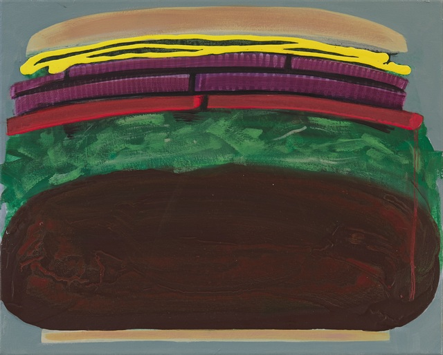 , 'Hamburger,' 2016, Freight + Volume