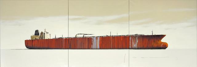 , 'Tanker 28 (triptych),' 2018, Massey Klein Gallery