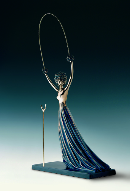 Salvador Dalí, 'Alice in Wonderland', 1977–1984, Sculpture, Bronze lost wax process, Dali Paris