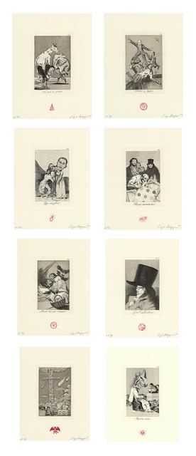 , 'Recurrent Goya (suite of 8),' 2012, Lisa Sette Gallery