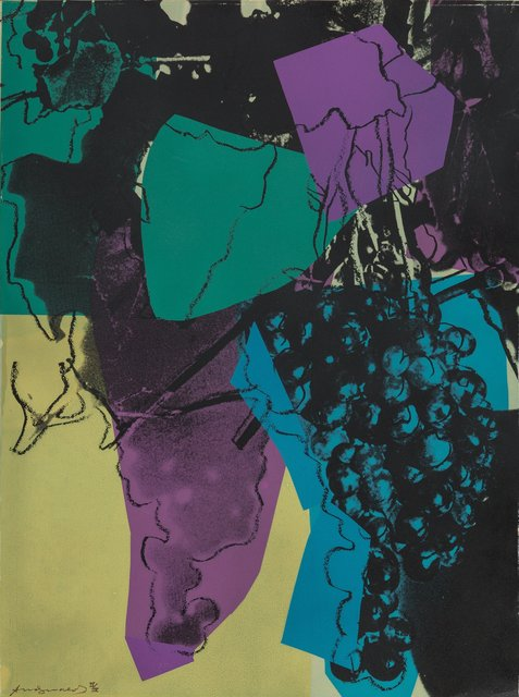Andy Warhol, 'Grapes D.D.', 1979, Heritage Auctions