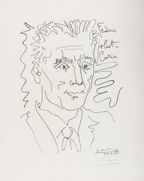 After Pablo Picasso, 'Portrait of Frederic Joliot-Curie,' 1959, Forum Auctions: Editions and Works on Paper (March 2017)