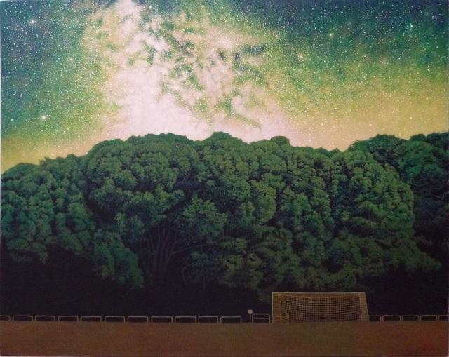 , 'Nighttime Park,' 2013, SEIZAN Gallery