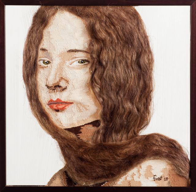 , 'Olga, Renaissance Girl,' 2012, Anna Laudel