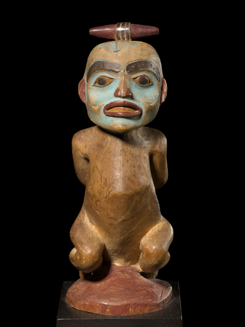 , 'Shaman Figure of a Bound Witch,' Late 19th Century, Tambaran