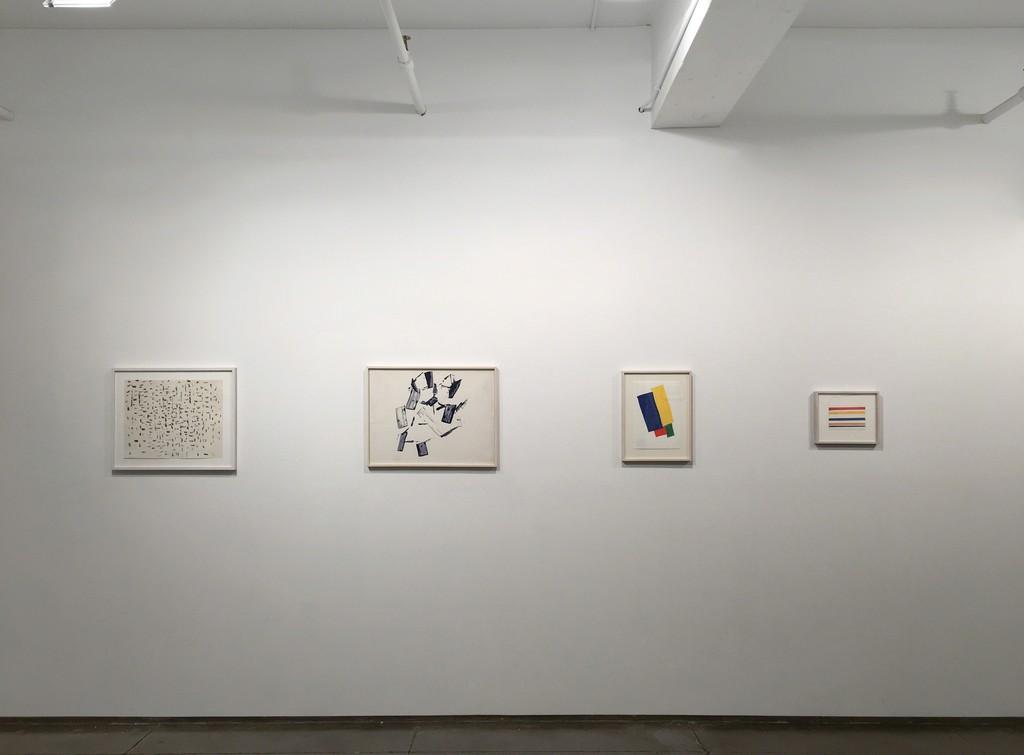 Charlotte Posenenske Radical Drawings Installation view