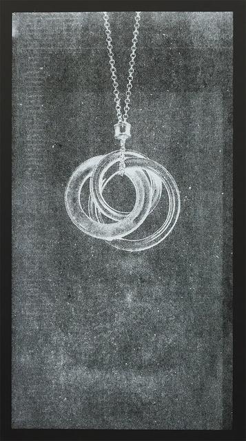 , 'Ghost, Interlocking Circles Pendant, 2015,' 2015, Smack Mellon