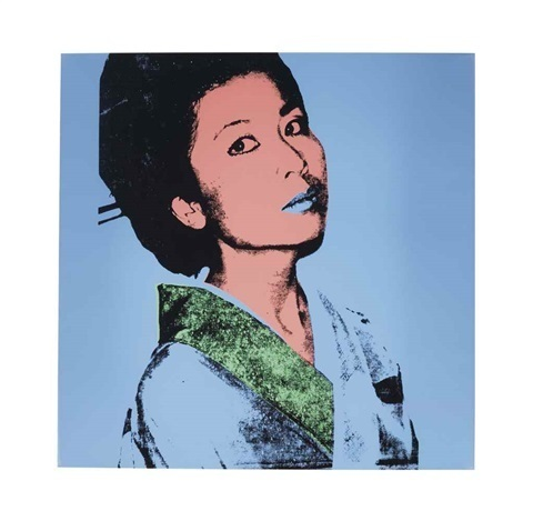 Andy Warhol, 'Kimiko', 1981, Drawing, Collage or other Work on Paper, Okker Art Gallery