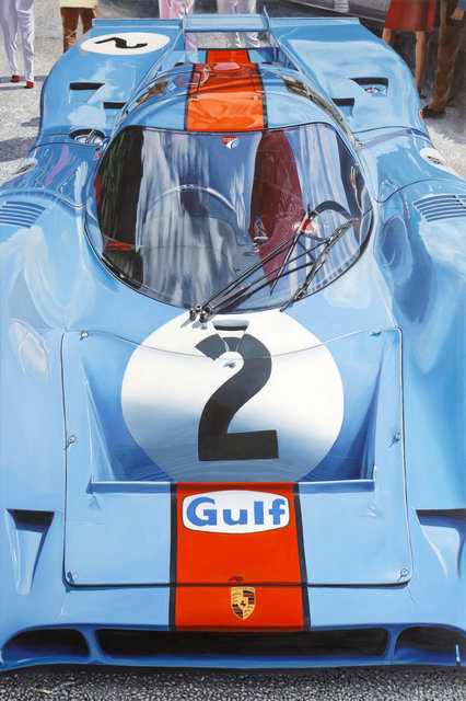 , ' Porsche 917 - Gulf ,' 2014, Contini Art Gallery
