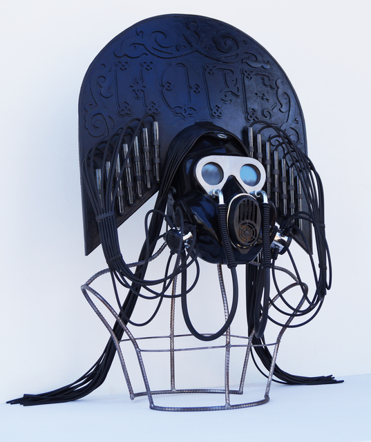 ", 'Kokosnik - Gas Mask ""Hope"",' 2016, 11.12 Gallery"