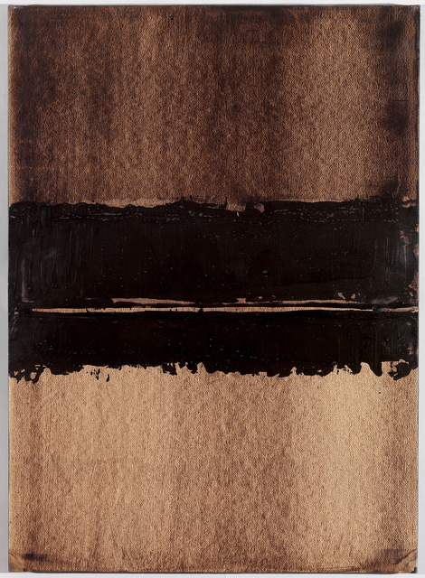 , 'Walnut stain, 76 x 54 cm, 1999 B-17,' 1999, Bernard Jacobson Gallery