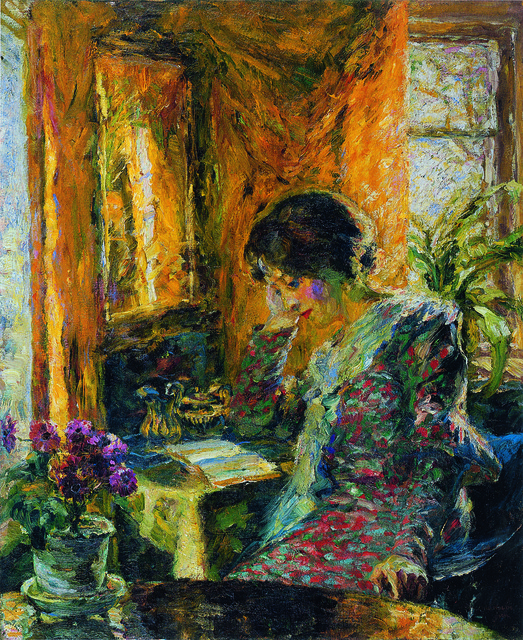 Emil Nolde, 'Frühling im Zimmer', 1904, Painting, Oil on canvas, Louisiana Museum of Modern Art