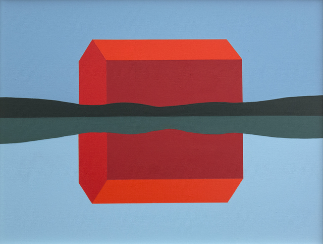 , 'Red Barn Reflected ,' 1998, Oeno Gallery