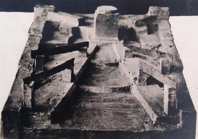 , 'Vkhutemas IV-5-54, Spatial Study,' 1920, Richard Saltoun