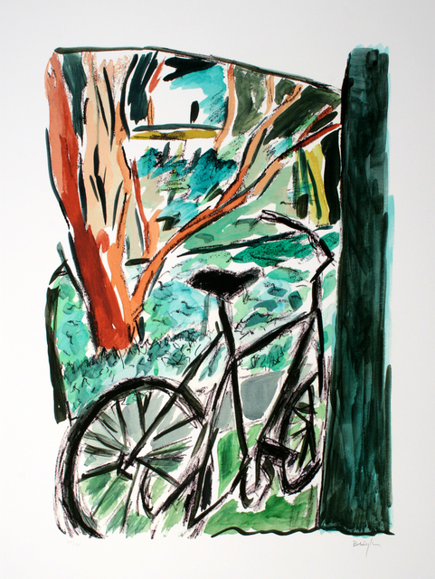, 'Bicycle,' 2014, The Ross Art Group Inc.