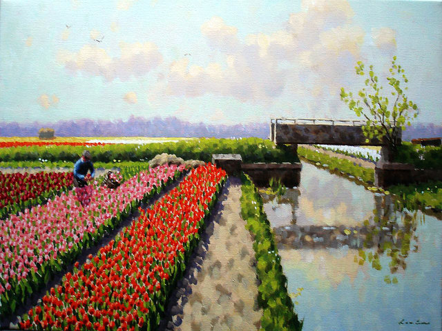 , 'Small canal at Voorhout,' ca. 2018, ArtBoutique