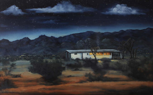 , 'Night View Of The Park,' 2018, Joshua Tree Art Gallery