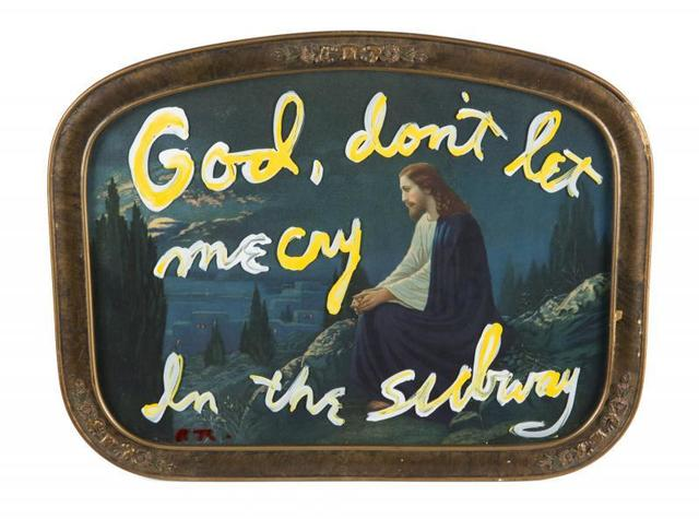 Rene Ricard, 'God, Don't Let Me Cry in The Subway', ca. 1990, Kantor Gallery