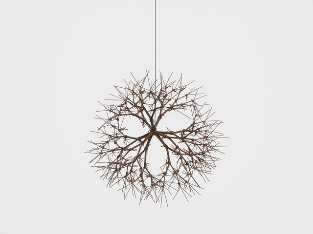 Ruth Asawa, 'Untitled (S.371, Hanging, Tied-Wire, Closed-Center, Multi-Branched Form Based on Nature)', 1965, David Zwirner