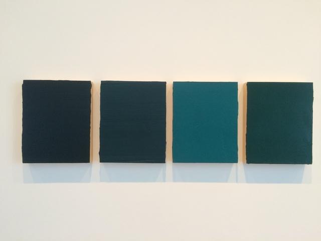 , 'Four Souldiers (Four parts),' 2013, inde/jacobs