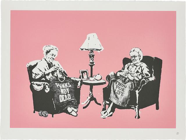 Banksy, 'Grannies', 2006, Phillips