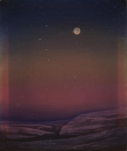 , 'Lune d'hiver,' 2015, Galerie Les filles du calvaire